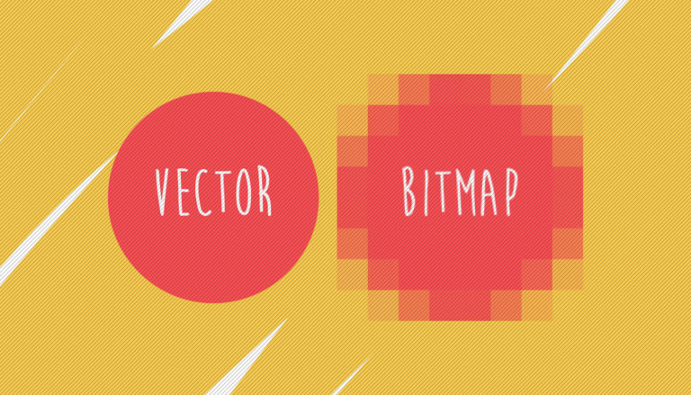 Do you know the difference between a Bitmap image and a vector file?
